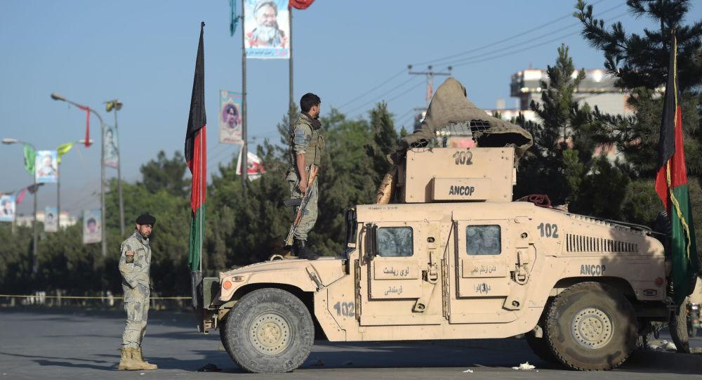 Afgańscy wojskowi w Kabulu