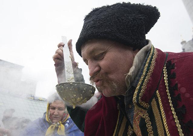 Miting zwolenników eurointegracji w Ukrainie