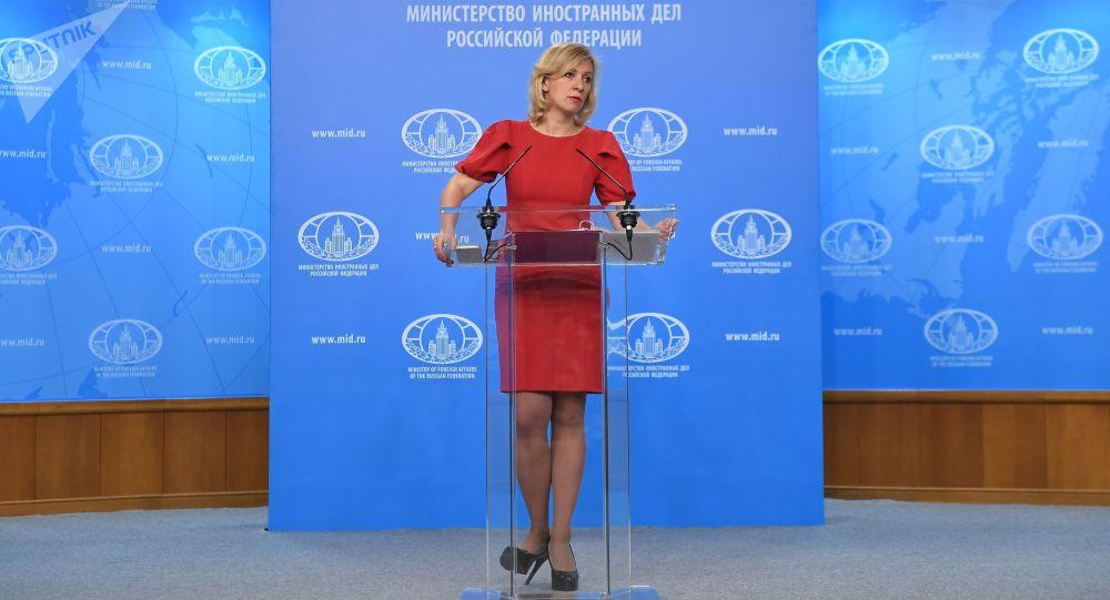 Rzeczniczka spraw zagranicznych Rosji Maria Zacharowa