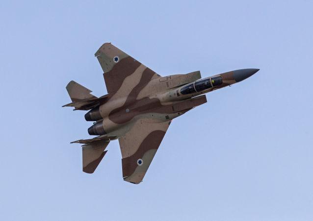 Izraelski myśliwiec F-15