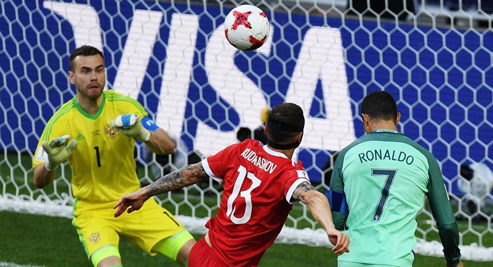 Football. 2017 FIFA Confederations Cup. Russia vs. Portugal