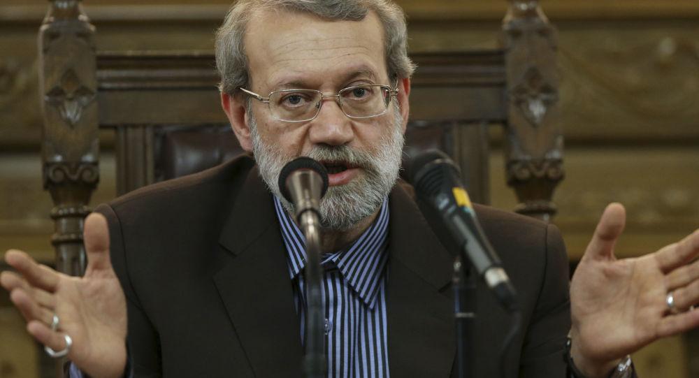 Przewodniczący irańskiego parlamentu Ali Laridżani