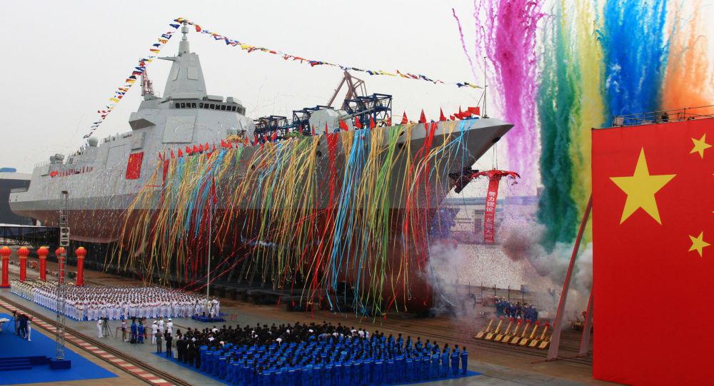 Zwodowanie chińskiego niszczyciela