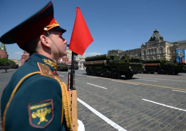 Defilada Zwycięstwa na Placu Czerwonym w Moskwie