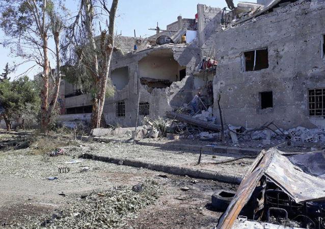 Zamach bombowy w Damaszku