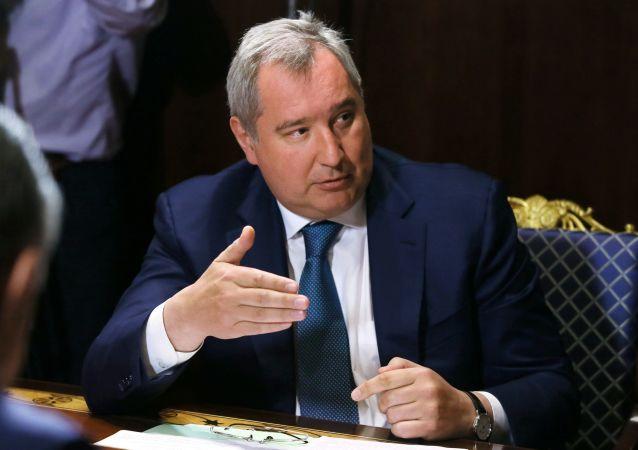 Wicepremier Rosji Dmitrij Rogozin