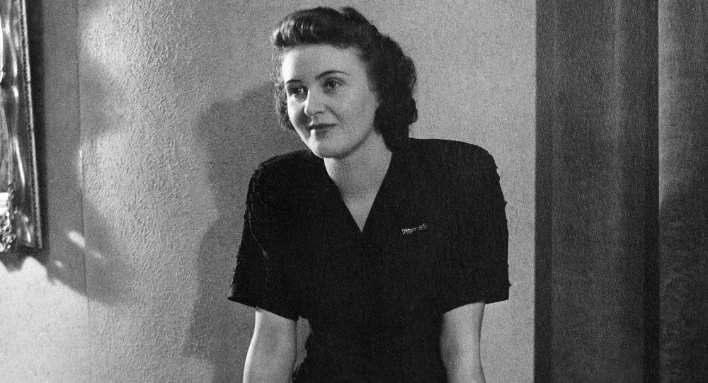 Kochanka Adolfa Hitlera Ewa Braun