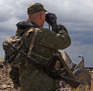 Przy linii styku w Donbasie