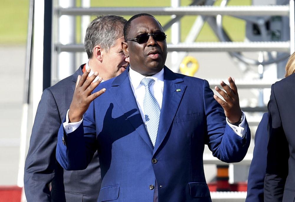 Prezydent Senegalu Macky Sall