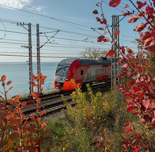 Pociąg Siemiens w Soczi