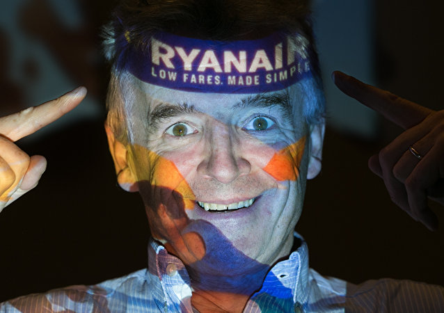 Dyrektor generalny linii lotniczych Ryanair Michael O'Leary