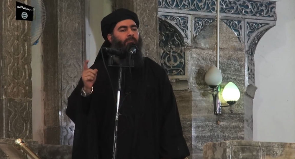 """Przywódca """"Państwa Islamskiego Abu Bakr al-Baghdadi"""