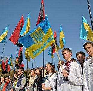 Uroczystości z okazji powstania UPA w Ukrainie