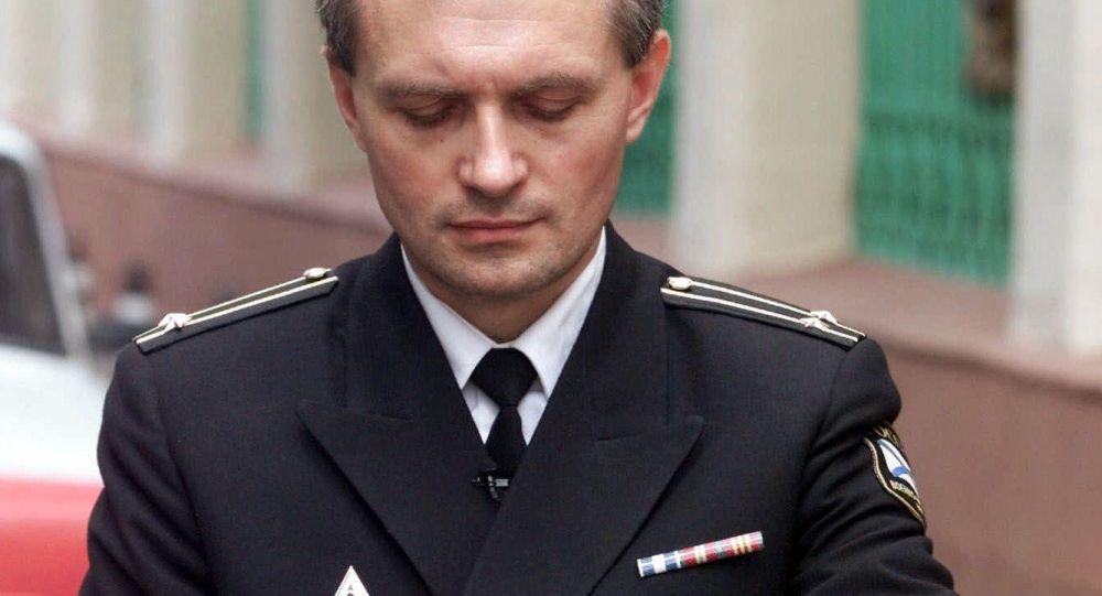 Rzecznik biura prasowego Ministerstwa Obrony Rosji ds. Marynarki Wojennej, kapitan 1. rangi Igor Dygało