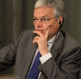Szef MSZ Belgii Didier Reynders