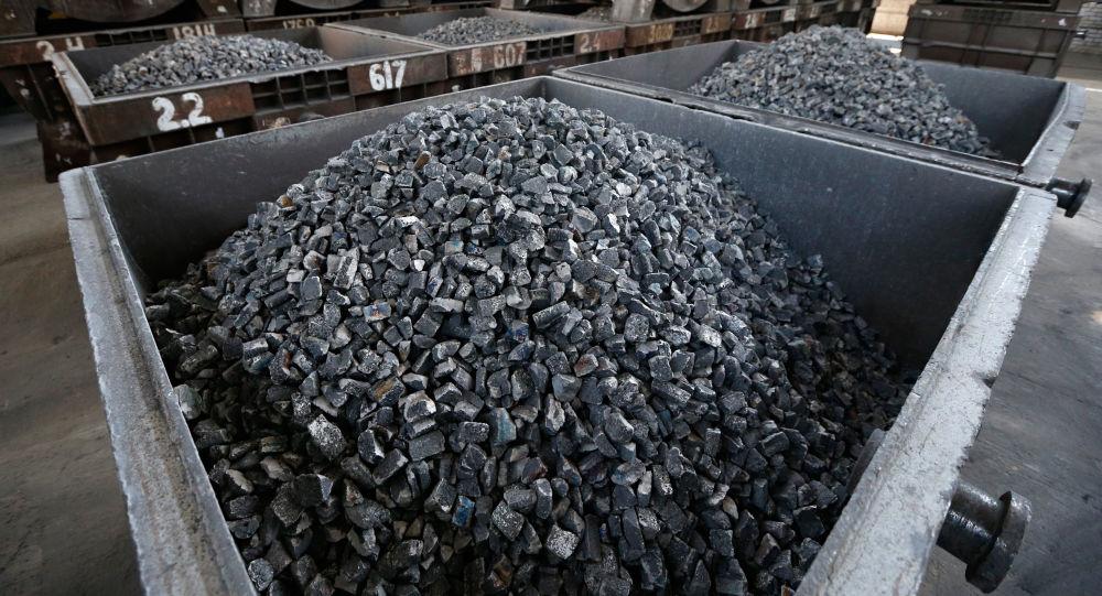 Kontener z węglem