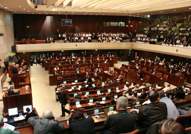 Posiedzenie izraelskiego Knesetu