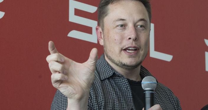 Szef koncernów SpaceX i Tesla Elon Musk