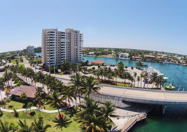 Miasto Deerfield Beach na Florydzie