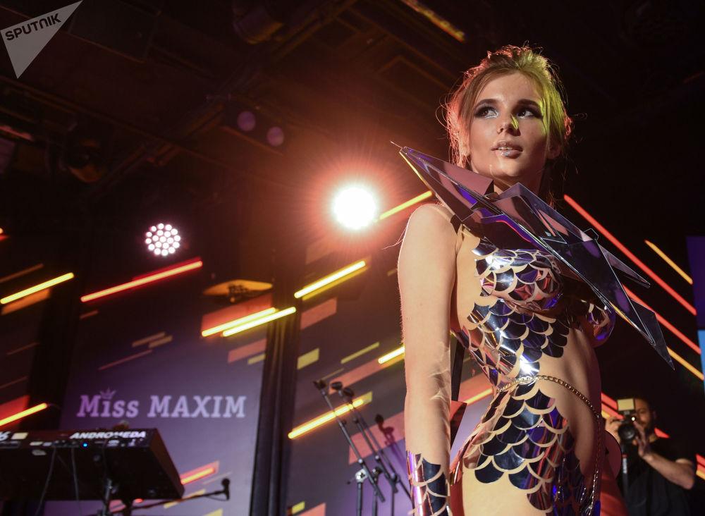 Finalistka konkursu Miss Maxim 2017 Anna Fedotova z Jekaterynburga