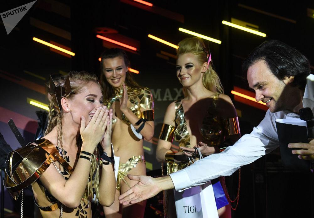 Zwyciężczyni konkursu Miss Maxim 2017 Jekaterina Kotaro z Szadrinska