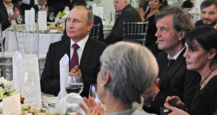 Władimir Putin i Emir Kusturica