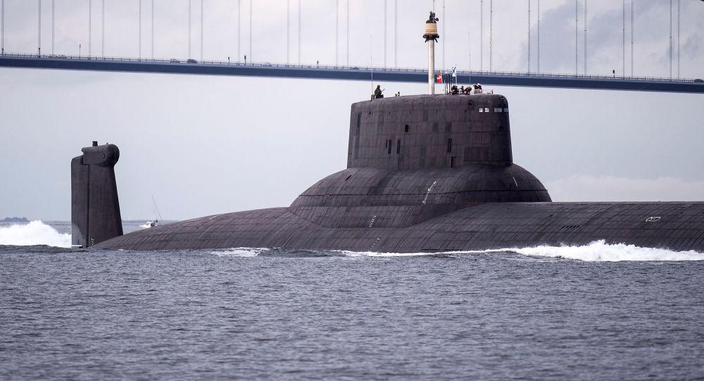Krążownik podwodny Dmitrij Donskoj z napędem atomowym