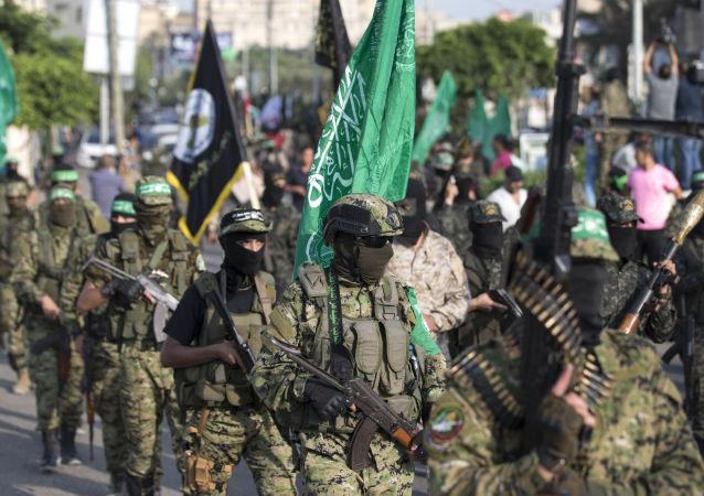 Skrzydło militarne organizacji Hamas w Palestynie