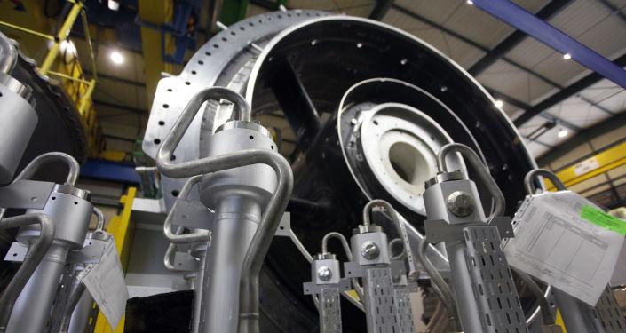 Turbina gazowa, fabryka Siemens w Niemczech
