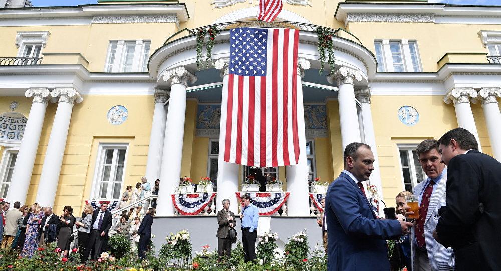 Rezydencja amerykańskiego ambasadora w Rosji