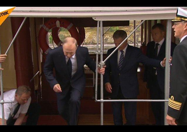 Wizyta Władimira Putina w Finlandii
