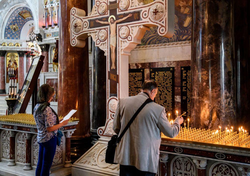 Dziś msze święte w Soborze św. Mikołaja odbywają się codziennie.
