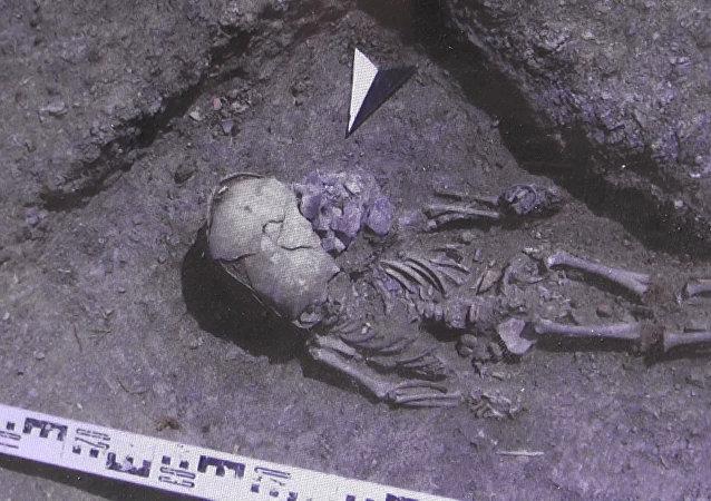 Na Krymie znaleziono szkielet chłopca z plemienia Sarmatów