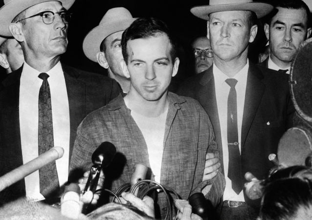 Zabójca prezydent USA Johna Kennedyego Lee Harvey Oswald