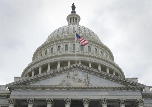 Budynek amerykańskiego Kongresu w Waszyngtonie