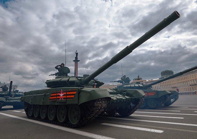Próba generalna Parady Zwycięstwa w Petersburgu