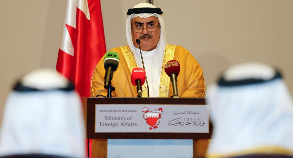 Minister spraw zagranicznych Bahrajnu Chalid ibn Ahmad ibn Muhammad al-Challifa