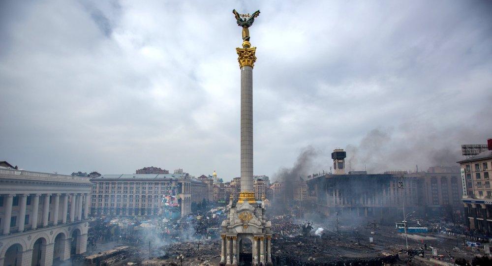 Majdan Niezależności w Kijowie