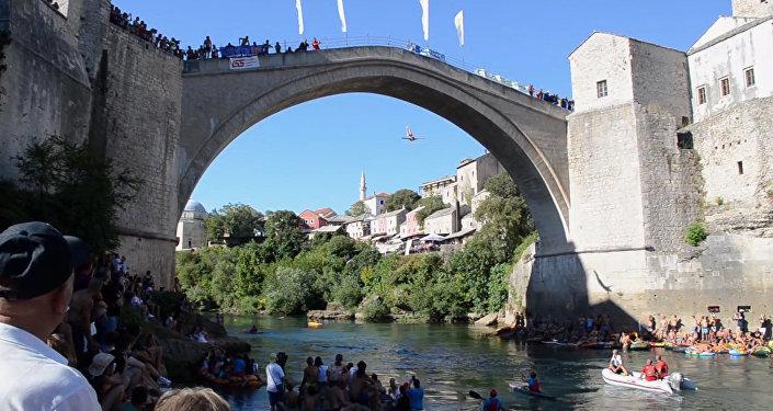 Skoki z mostu