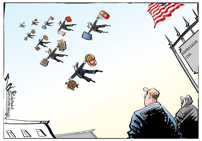 Amerykańscy dyplomaci stracili dostęp do rezydencji i magazynu w Moskwie.