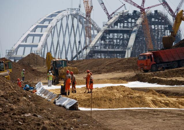 Budowa Mostu Kerczeńskiego
