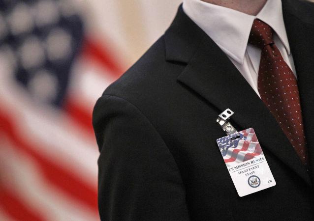 Pracownik amerykańskiej ambasady w Moskwie