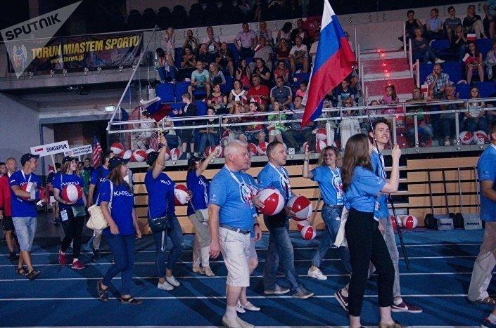 Reprezentacja Rosji na Ceremonium Otwarcia Igrzysk