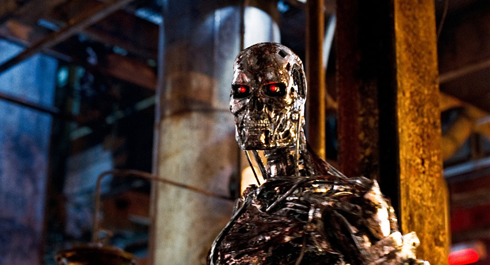 Kadr z filmu Terminator