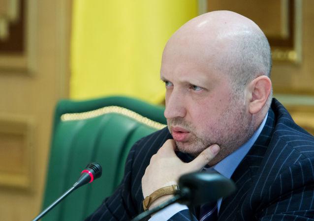 Sekretarz Rady Bezpieczeństwa Narodowego i Obrony Ukrainy Ołeksandr Turczynow