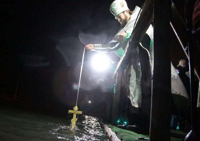 Krym, święcenie wody
