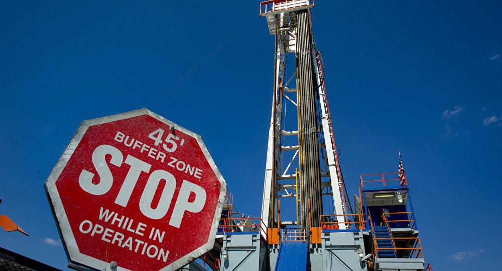 Złoże gazu łupkowego w Pensylwanii, USA