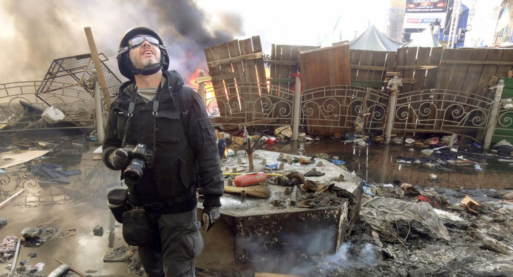 Andriej Stienin w Kijowie