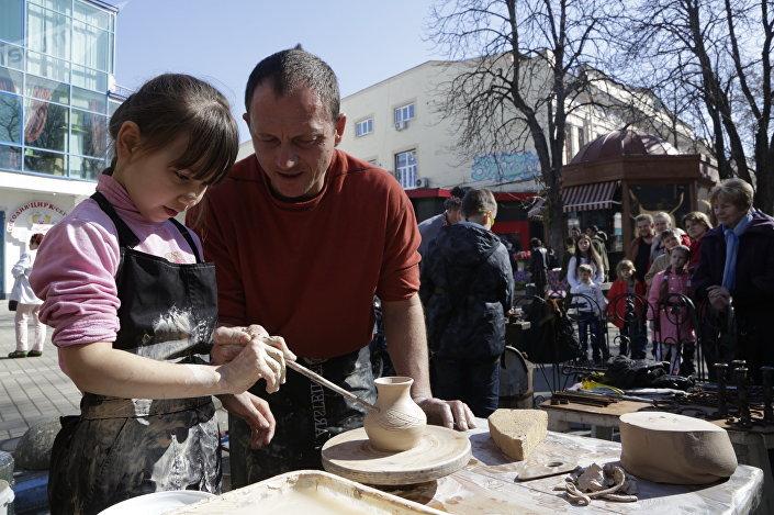 Garncarstwo w Symferopolu