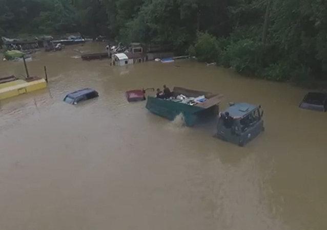 Powódź w Kraju Nadmorskim